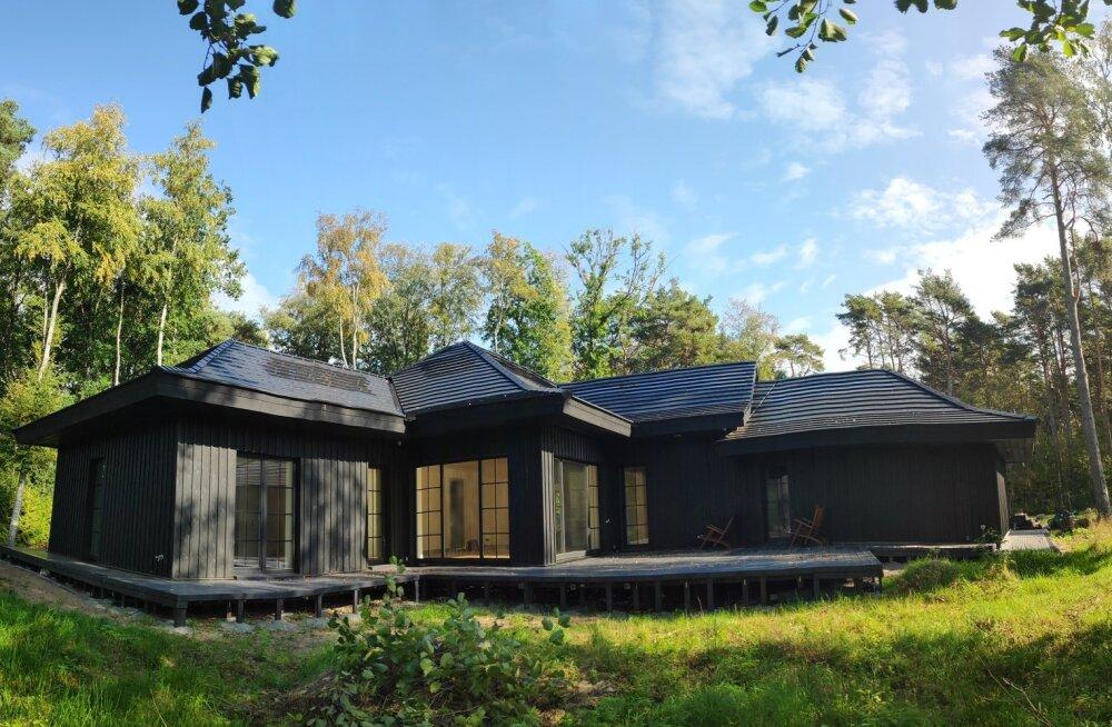 Põhuplaatidest maja projekteerides saavad arhitektid fantaasial lennata lasta.