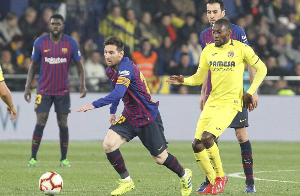 VIDEO | Tõeline thriller: Barcelona ja Villareali kohtumises nähti punast kaarti ja kaheksat väravat