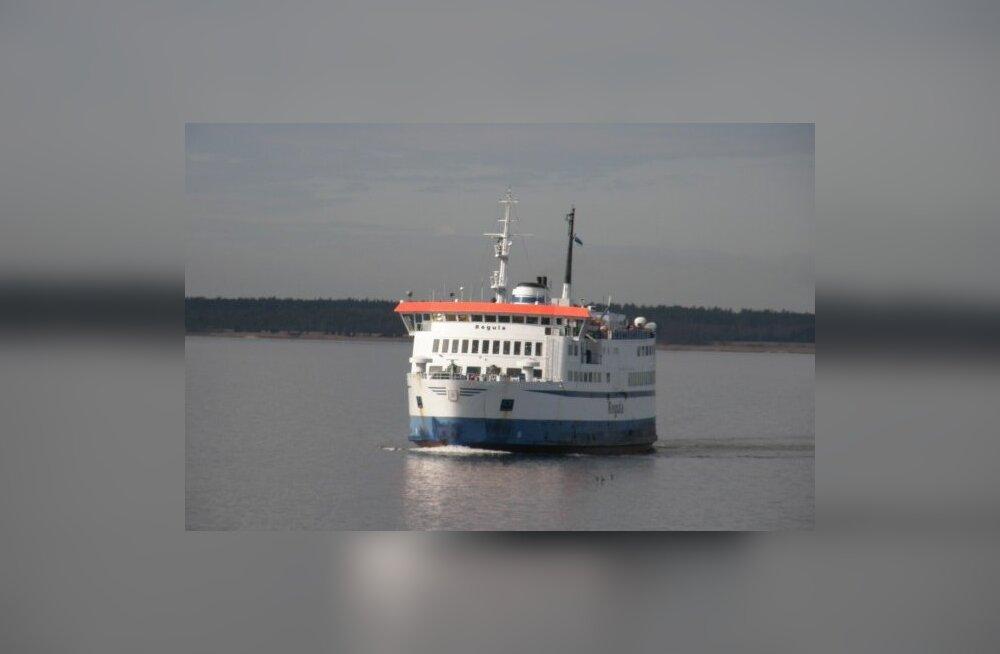Väinamere reisiliinid lähevad üle sügisgraafikutele