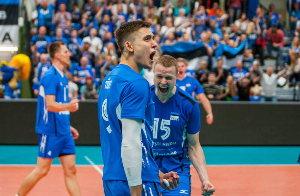 OTSEBLOGI | Eesti võrkpallikoondis loositi EM-il maailmameistriga ühte gruppi, mängud toimuvad Hollandis