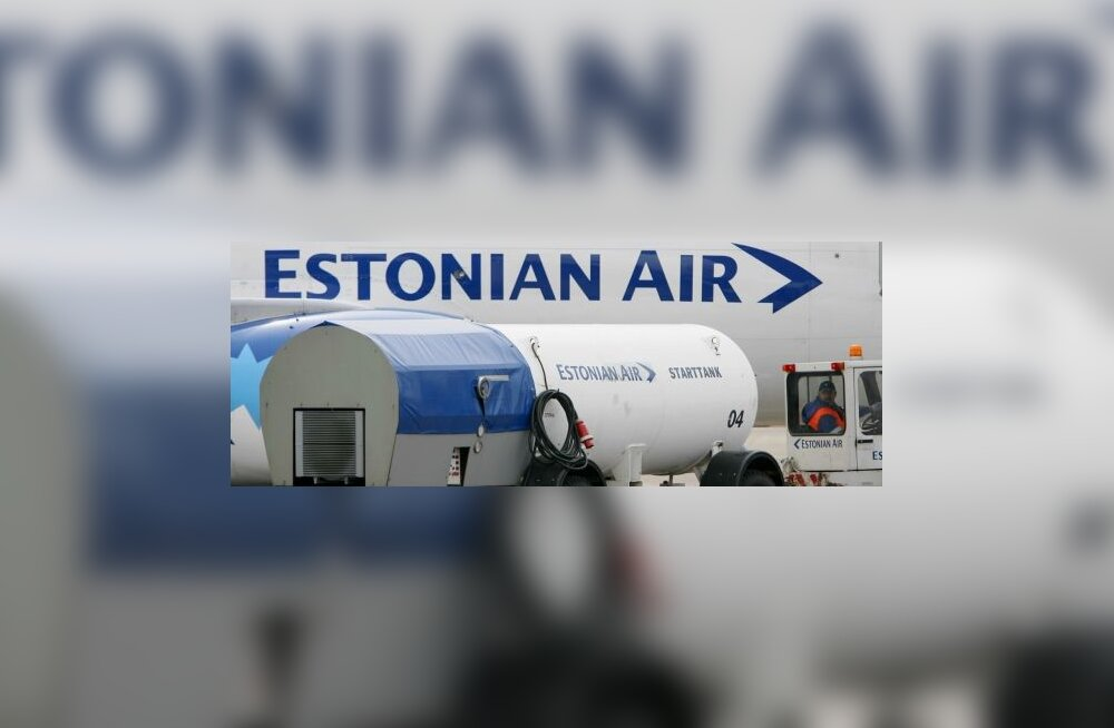 estonian air, lennuk