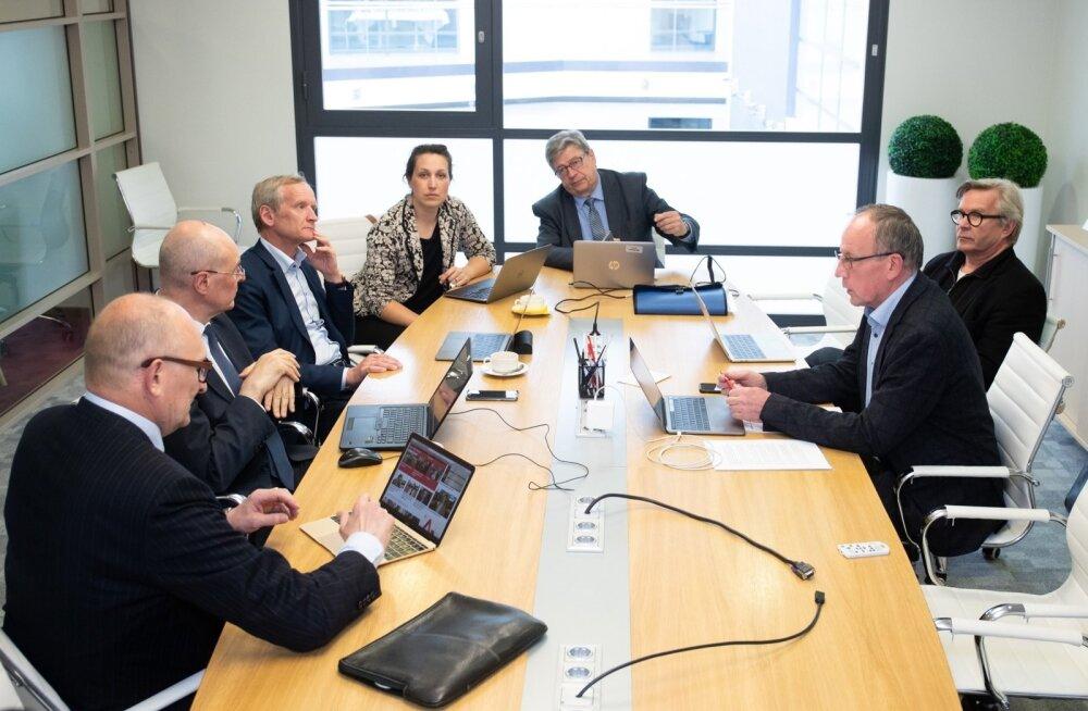 Rektorite nõukogu kogunemine TLÜs