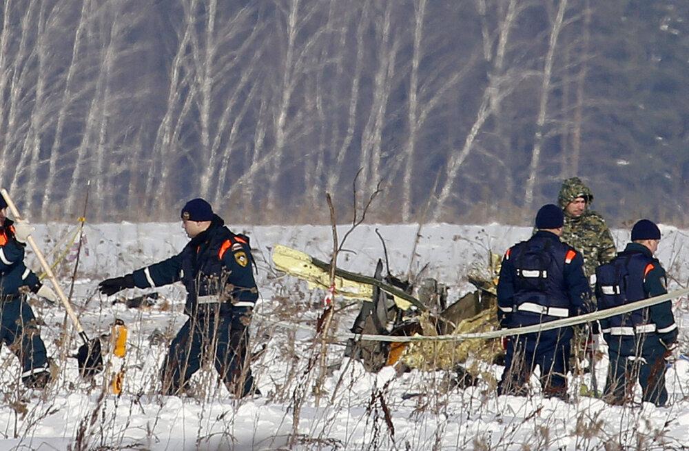 Vene ametivõimud: reisilennuk An-148 võis alla kukkuda pilootide vea tõttu