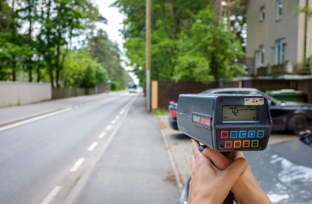 Kiirusmõõtmise reportaaž