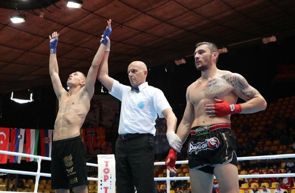Kaks vastast nokauti löönud Maikel Astur on EM-il jõudnud poolfinaali