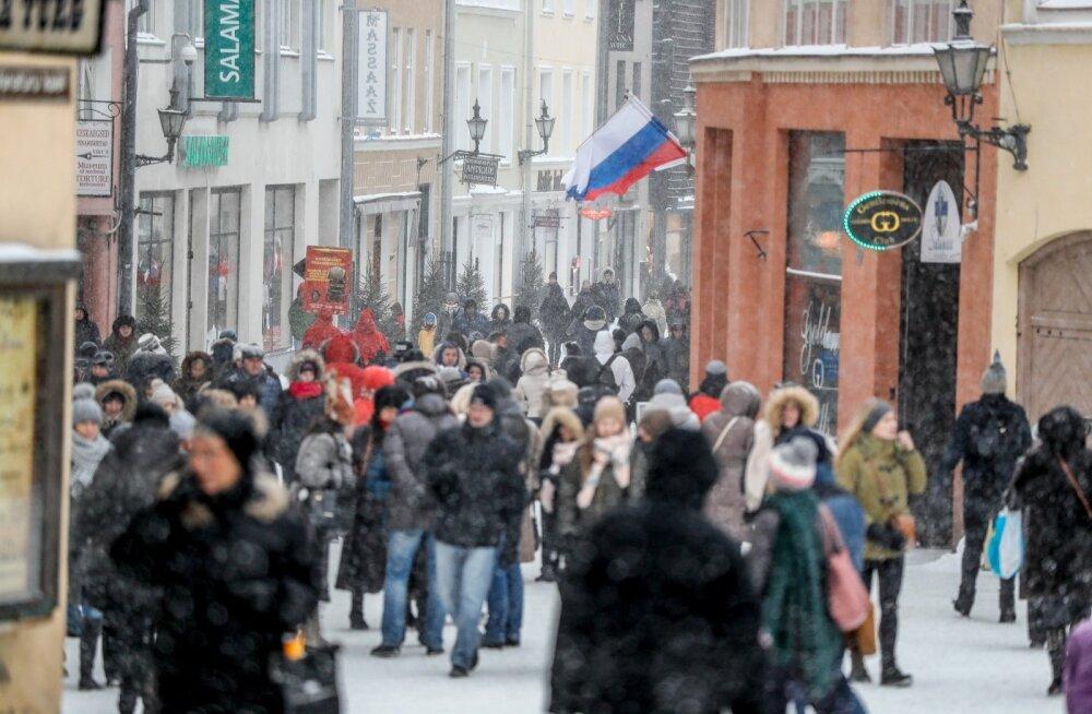 7 января 2017 в Старом Таллинне