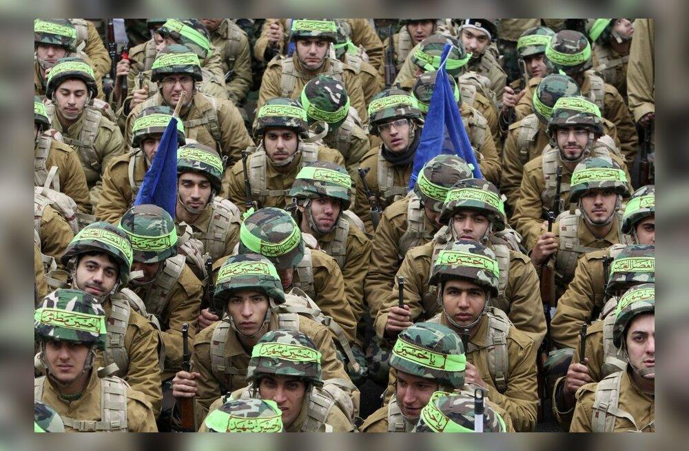 Iraani revolutsiooniline kaardivägi valmistub sõjaks