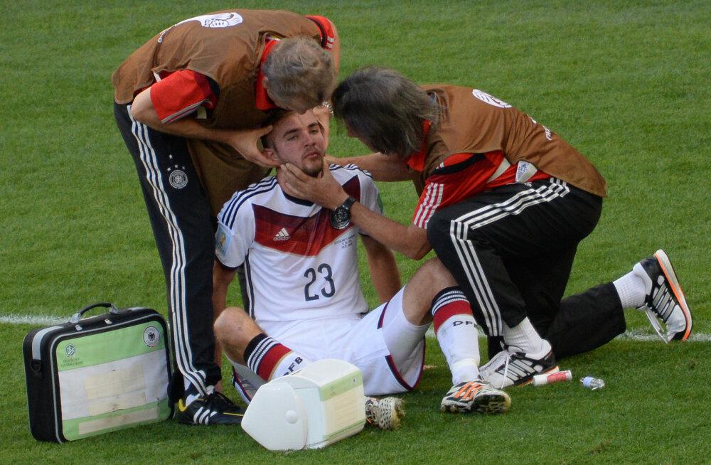 FOTOD | Vaata, milline mõju on peapõrutustel sportlastele