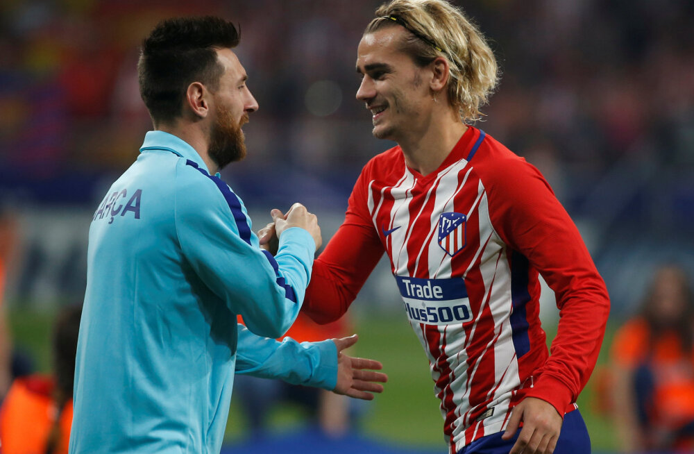 Lionel Messi ja Antoine Griezmann
