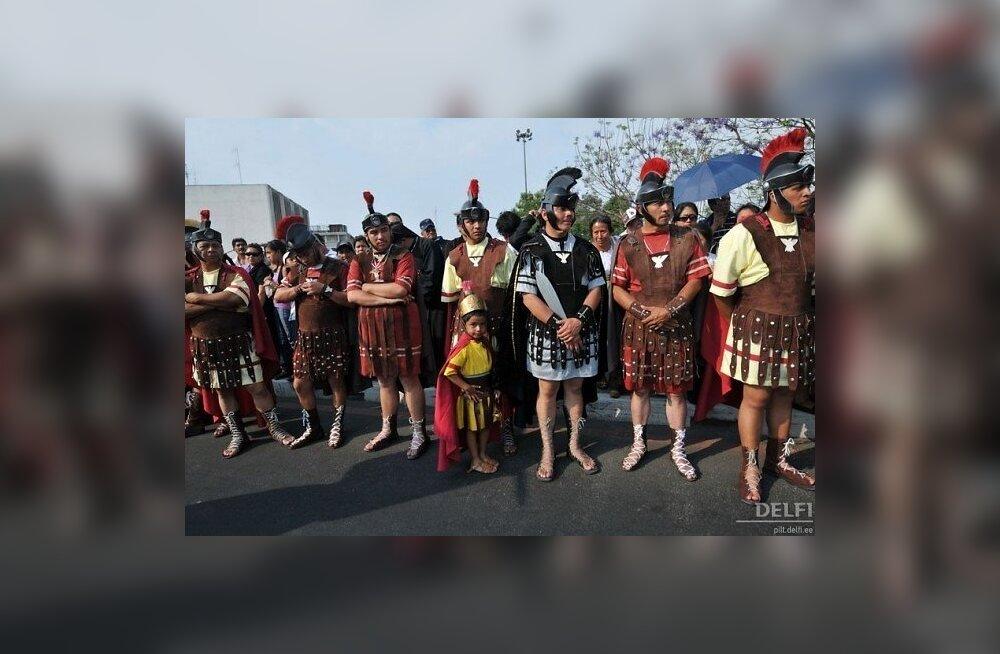 Vana-Rooma sõdurid kandsid sandaalide sees sokke