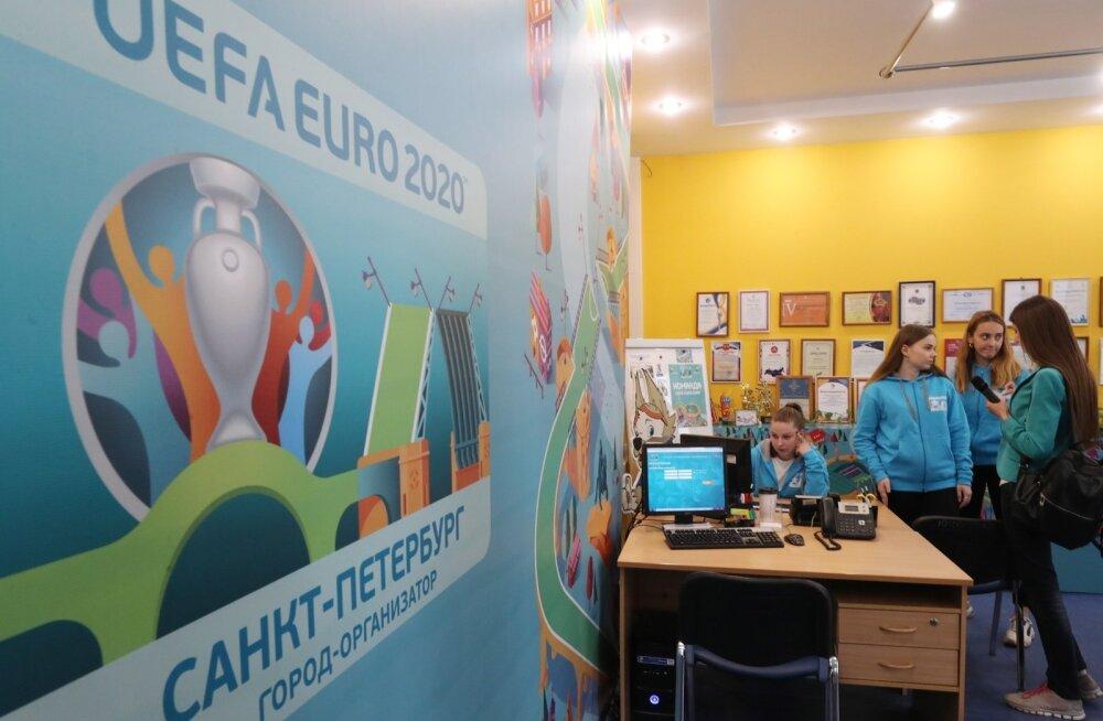 2020. aasta EM-finaalturniiri mänge peetakse ka Peterburis.