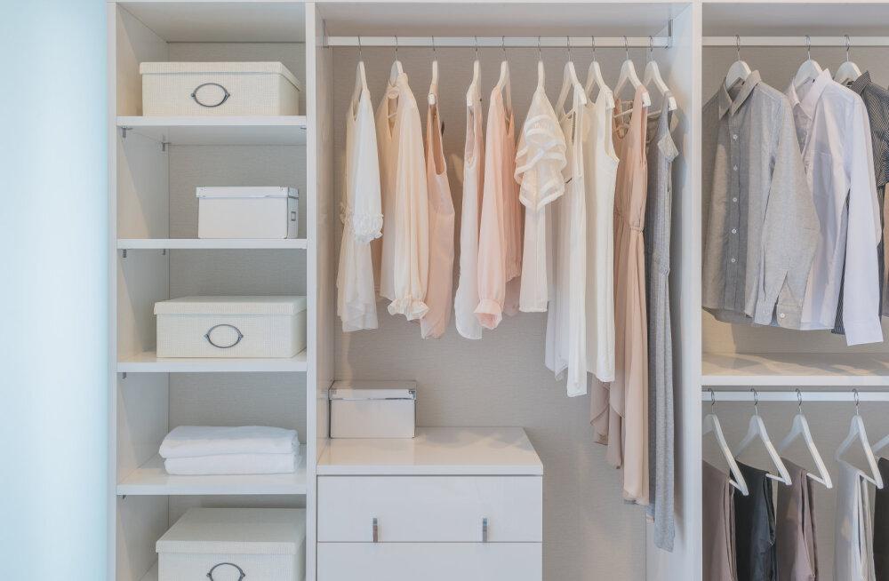 3 lihtsat nippi, kuidas oma riidekapp alati korras hoida
