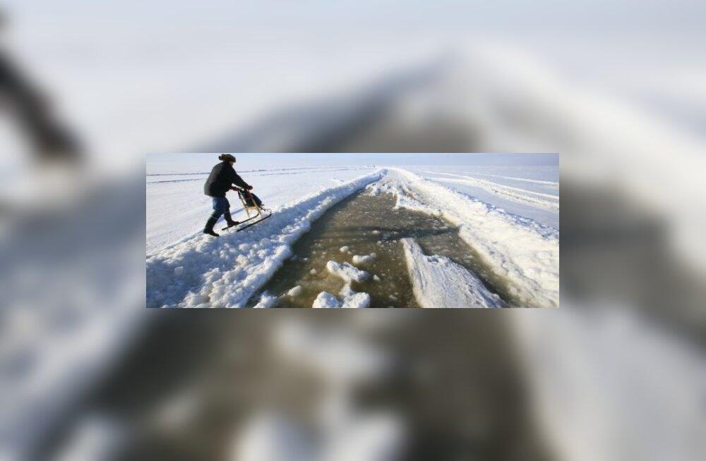 Euroopa pikim jäätee Hiiumaale oli kokku avatud 11 päeva