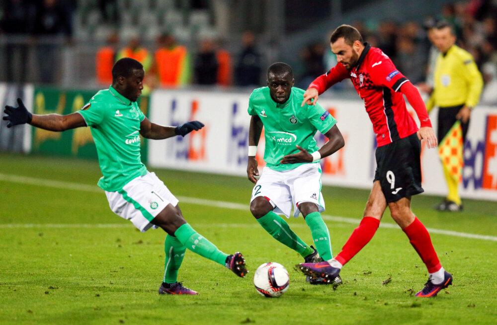 Sergei Zenjov lõi Aserbaidžaanis kaks väravat!