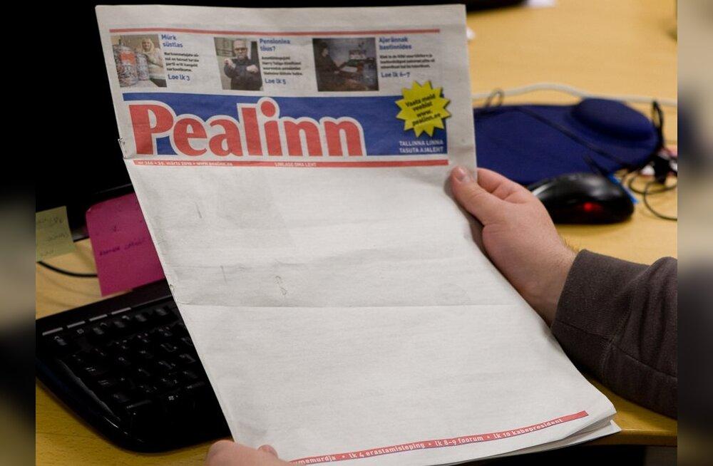Tallinna linnavalitsus ei sulge ajalehti Pealinn ja Stolitsa