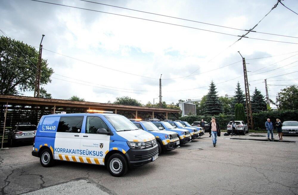 Tallinna Munitsipaalpolitsei Amet tutvustas uue välimusega ametiautosid