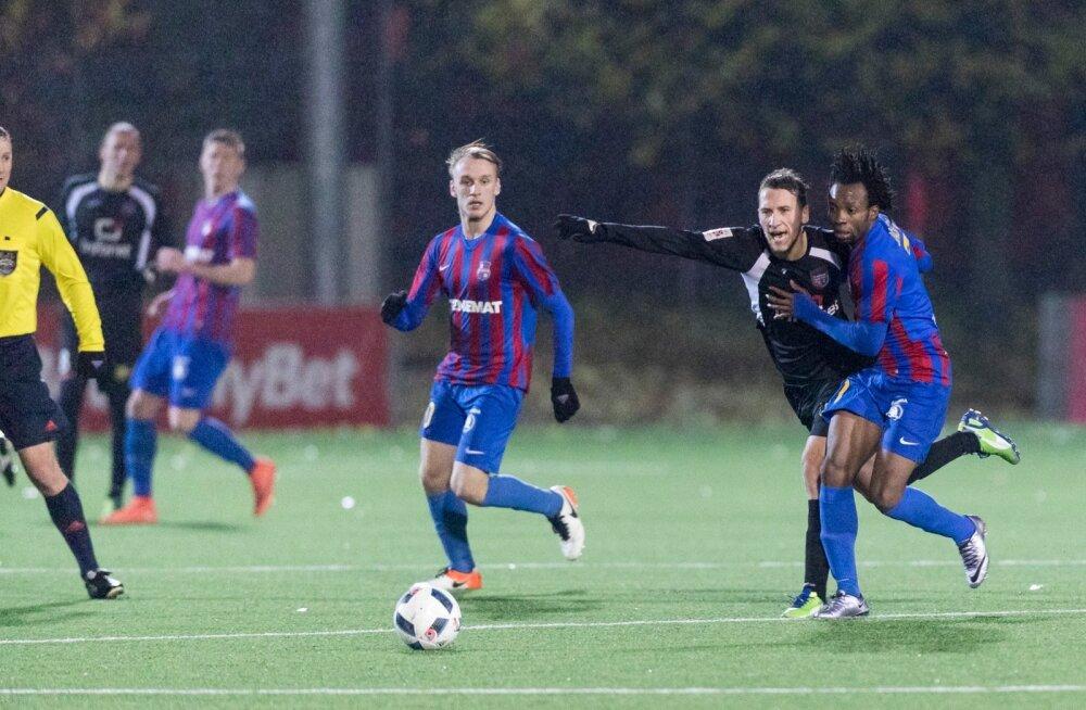 Jalgpalli Premium liiga eelviimase vooru avamängus alistas liider Tallinna Infonet koduväljakul Paide Linnameeskonna 3:1 ja kasvatas vahe teiste tiitlinõudlejatega juba viiele punktile.