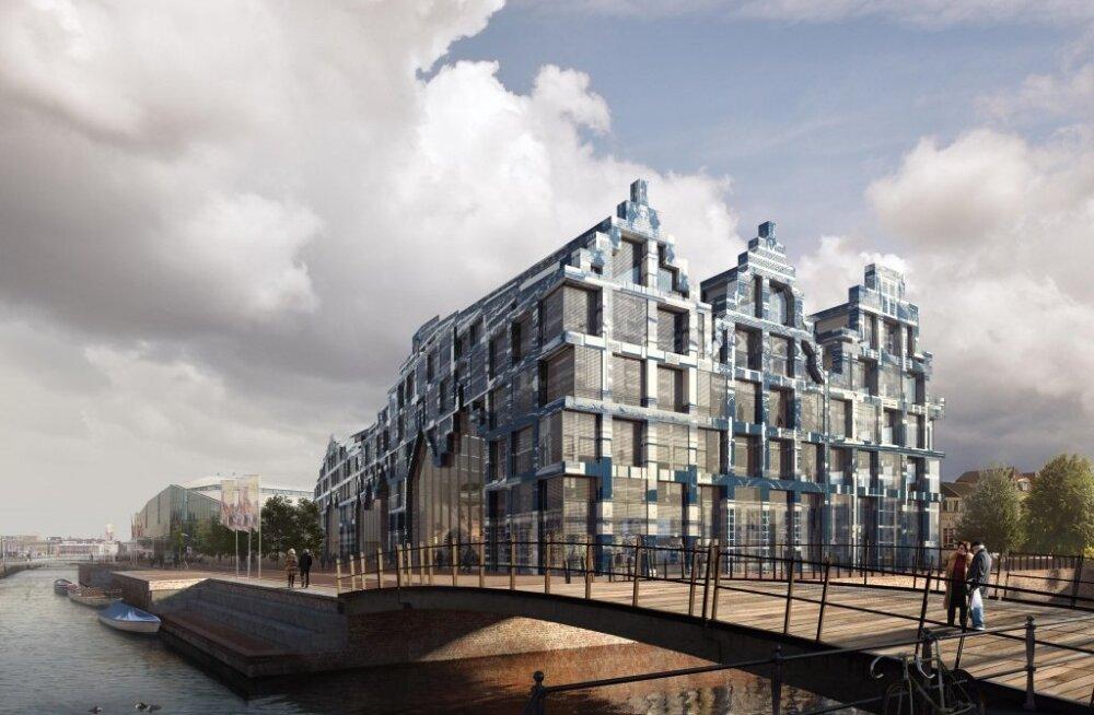 Delfti Maja hoonekompleksist saab värav unikaalsesse linna