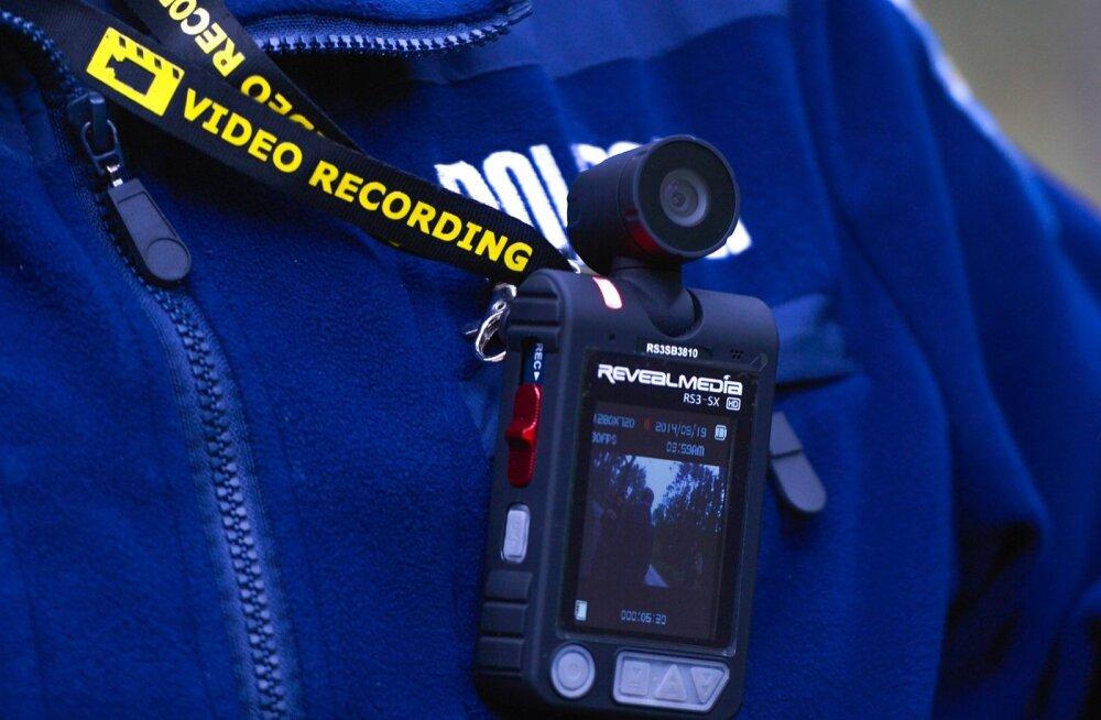 Politsei kehakaamera test