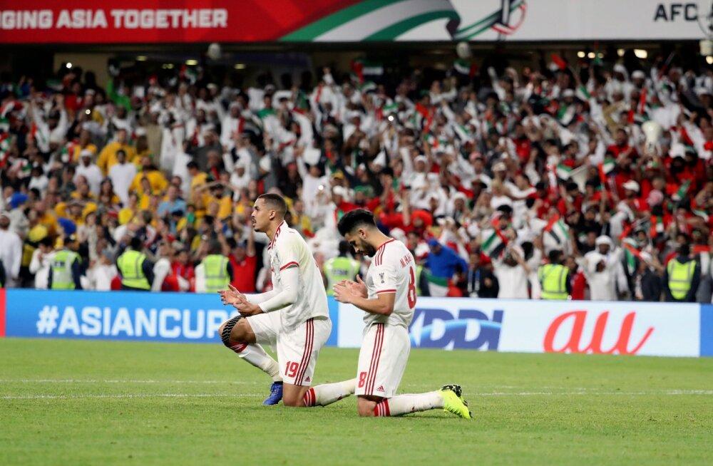 Araabia Ühendemiraatide jalgpallurid