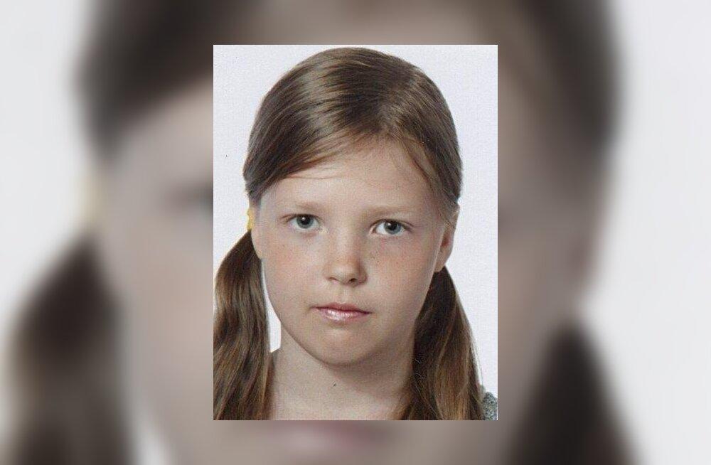 Jõhvis kaduma läinud 13- aastane Jelena leiti üles