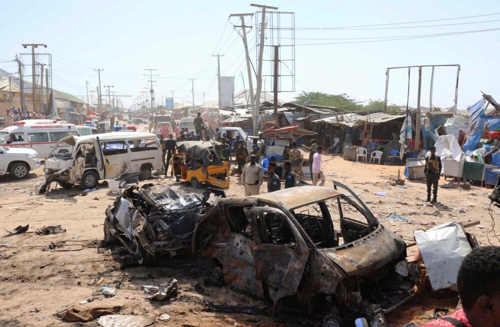 Autopomm raputas Somaalia pealinna: elu jättis 76 inimest