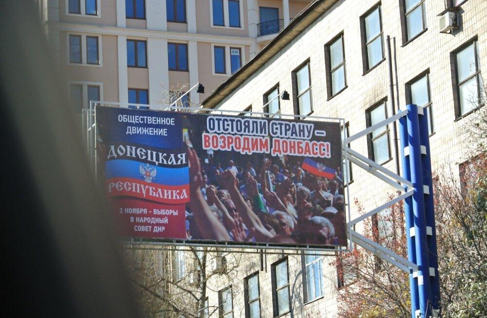 Donbassi rahvavabariik valmistub valimisteks