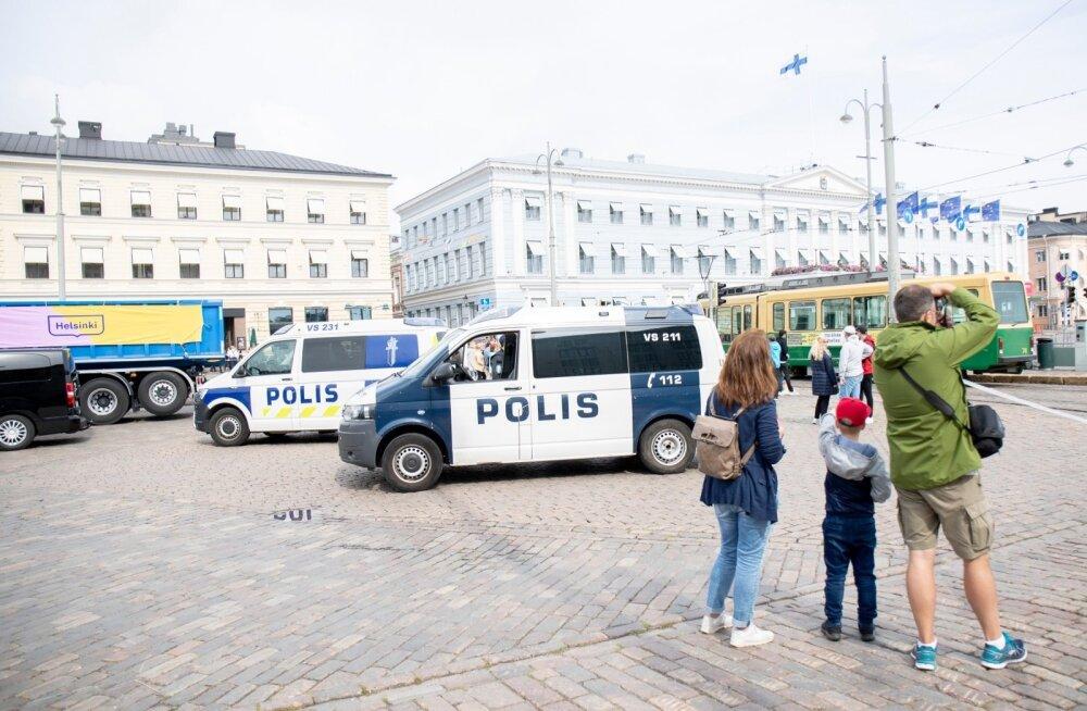 Vladimir Putin riigivisiidil Soomes 21.08.2019