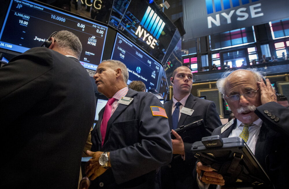 Börsid: kõigepealt langes Hiina, Euroopa tuli järele