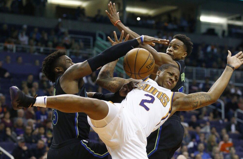 VIDEO   Järjekordne üliraske vigastus NBA-s: Sunsi tagamees murdis jalaluu