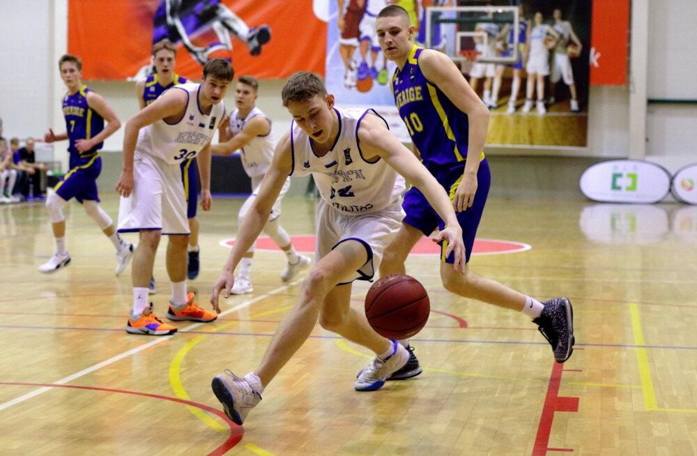 Eesti noormeeste korvpallikoondised alustasid kodust rahvusvahelist turniiri võidu ja kaotusega