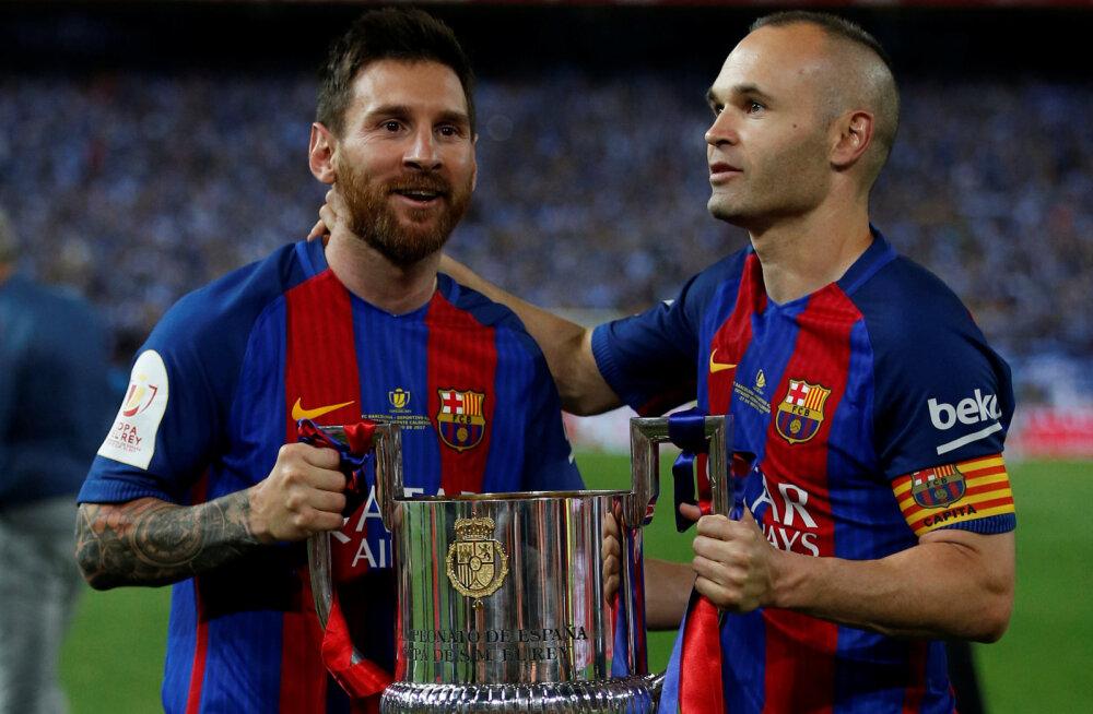 37 väravat löönud Messi võitis neljanda Kuldse Saapa