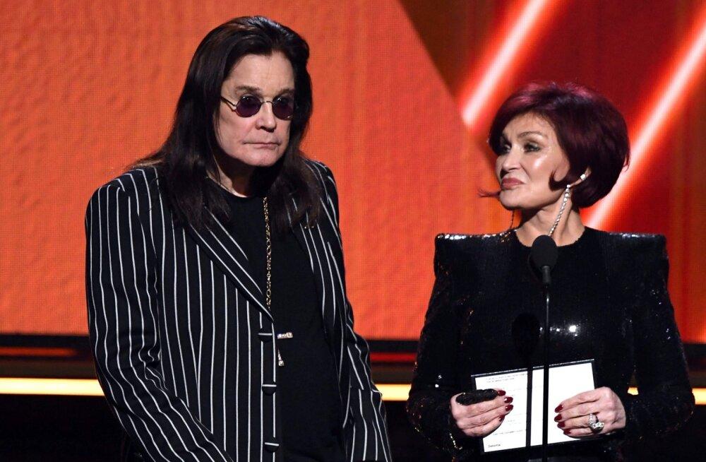 NOSTALGILINE KLÕPS | Ozzy ja Sharon Osbourne tähistasid oma suursugust pulma-aastapäeva