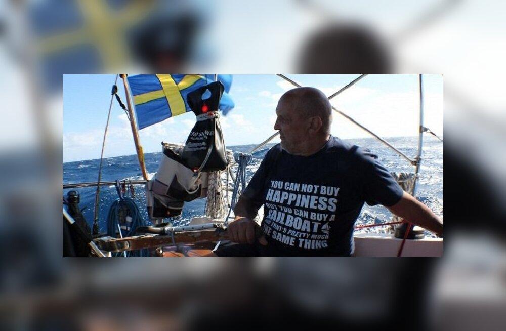 Подарок на 70 лет: латвийский пенсионер в одиночку переплыл Атлантический океан