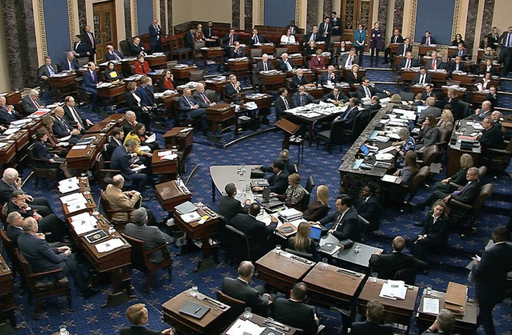 USA senat tõrjus demokraatide katsed saada Trumpi kohtuprotsessile uusi tõendeid
