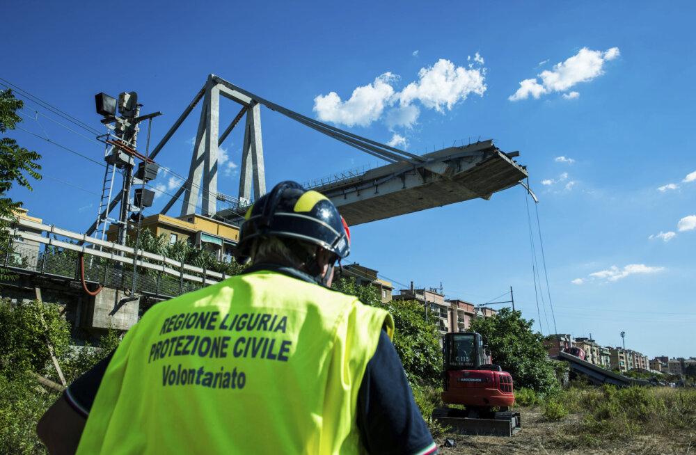 Genovas lõppesid sillavaringu ohvrite otsingud, hukkunute lõplik arv on 43