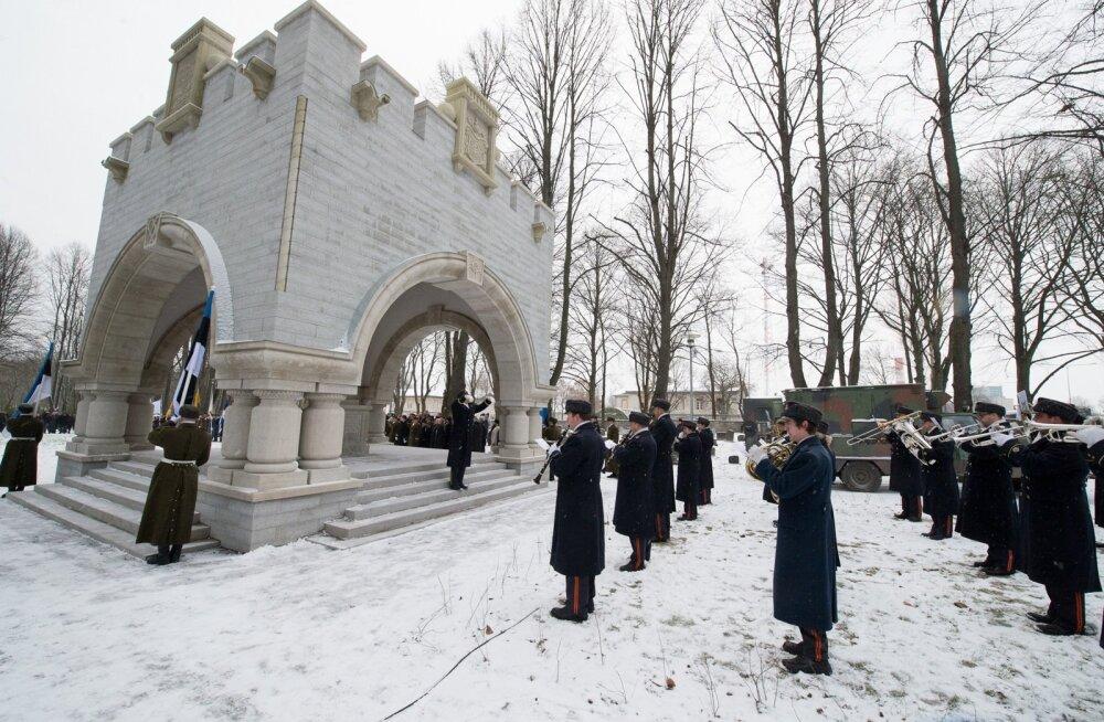 Monumendi avamine sõjaväekalmistul-21