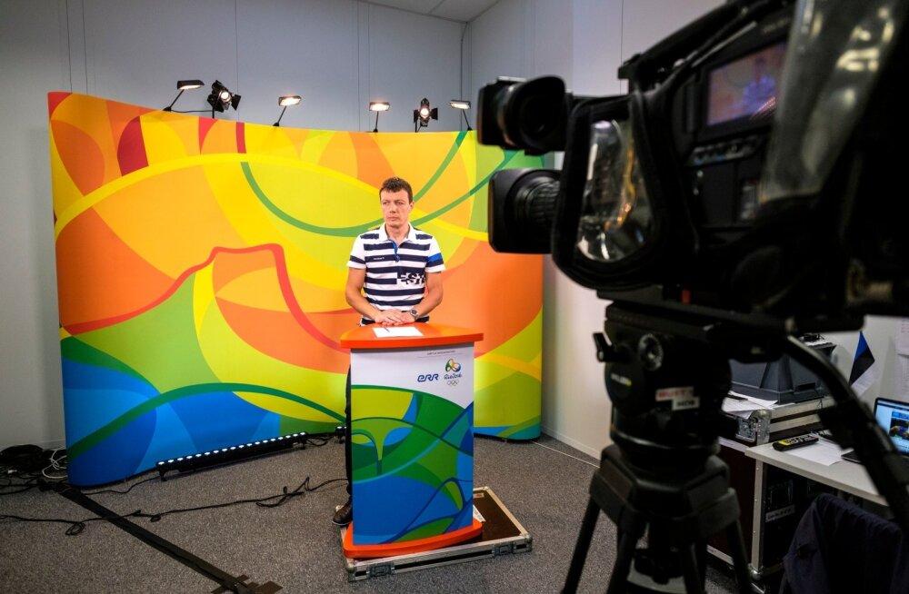 Rio olümpia ERRi tööruumid