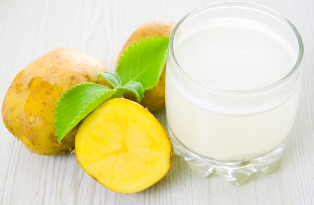 Soovid saada suveks saledaks? Kartulimahla joomine aitab kaalust alla võtta ning toimib nagu <em>detox</em>-kuur