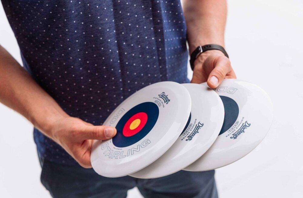 Müügile tulid esimesed eestimaised discgolfi kettad