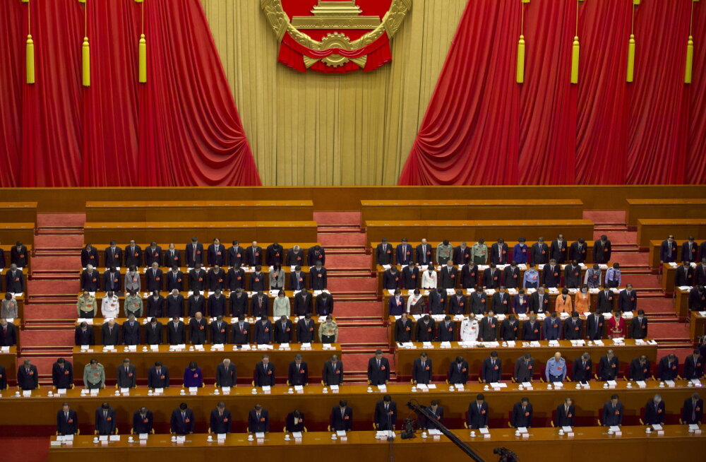 Hiina tahab oma rahvakongressil läbi suruda Hongkongi julgeolekuseaduse