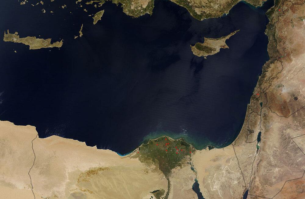 ÜLEVAADE | Kuidas kihk Vahemere gaasi järele ähvardab Kreeka ja Türgi sõtta paisata