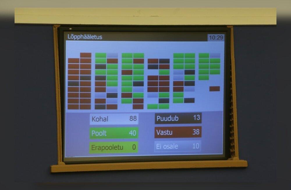 FOTOD: Riigikogu võttis vastu kooseluseaduse