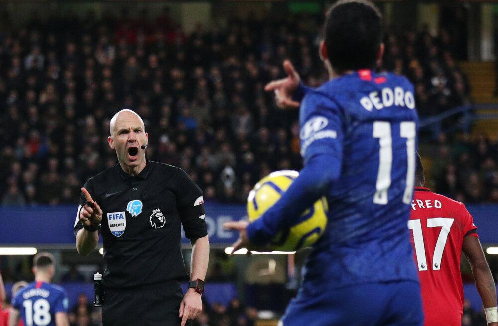 VIDEO | Kas Chelseale tehti mitmes olukorras Manchester Unitedi vastu liiga?