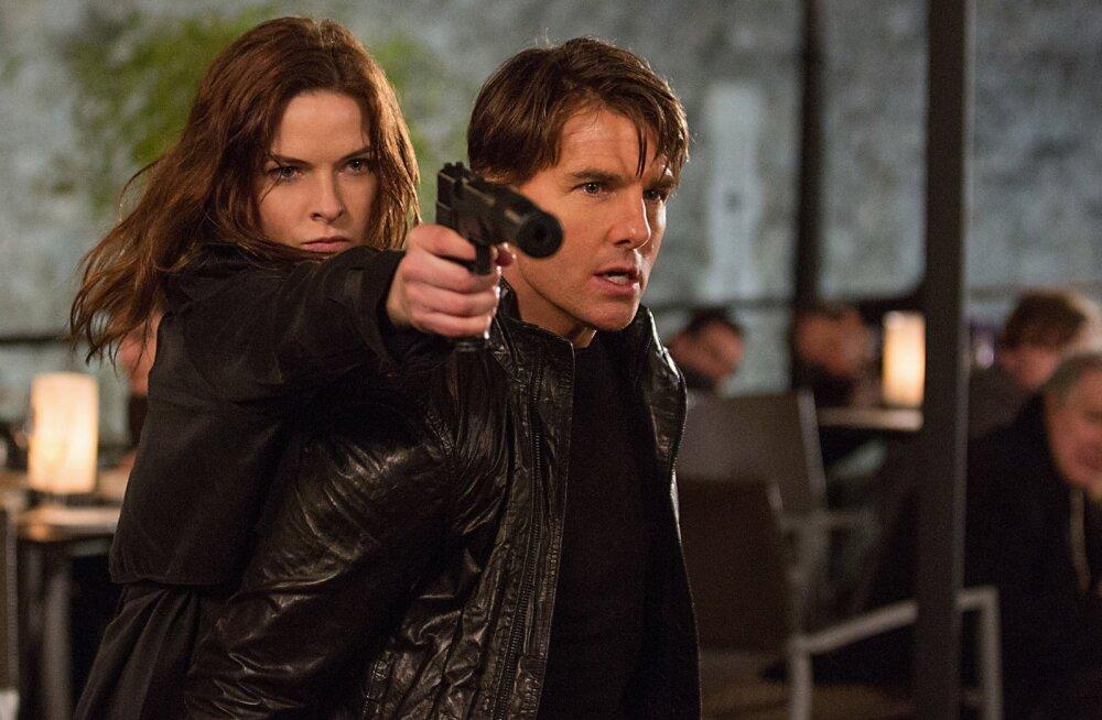 """Märulipõneviku """"Võimatu missioon: Salajane Rahvas"""" ainetel: Tom Cruise'i 10 kõige võimatumat kaskadööritrikki"""