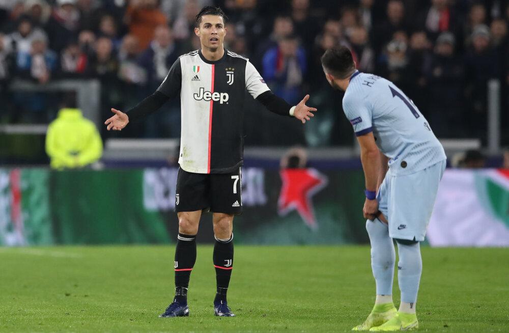 Juventuse peatreener Ronaldo väravapõuast: see annab talle ainult motivatsiooni juurde
