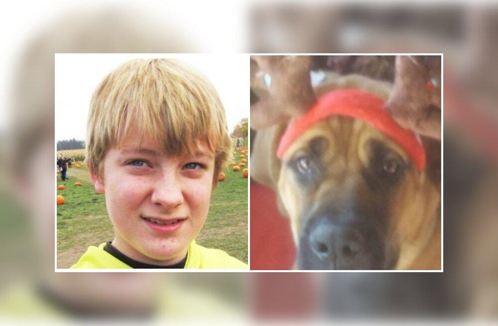 Teismeline poiss ja tema koer surid tulekahjus teineteise embuses