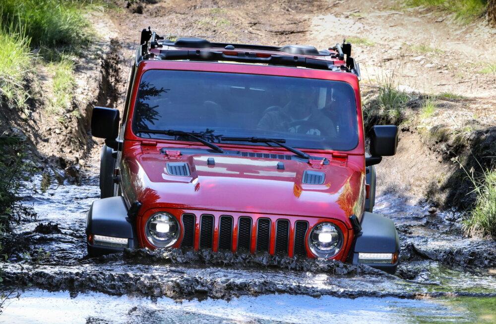 Jeep Wrangler, ehk värske tuuleiil karkudele upitatud luukpärade vahele
