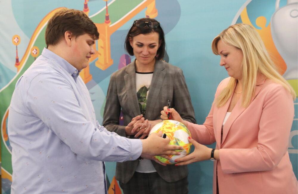 EMi mänge võõrustab ka Peterburi