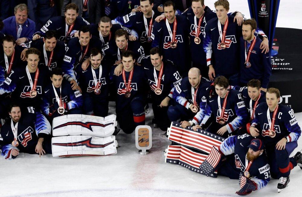 USA jäähokikoondis võitis MM-il pronksi.